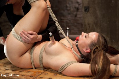Photo number 15 from Chanel Preston shot for Hogtied on Kink.com. Featuring Chanel Preston in hardcore BDSM & Fetish porn.