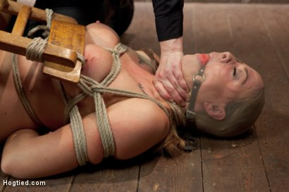 Photo number 5 from Chanel Preston shot for Hogtied on Kink.com. Featuring Chanel Preston in hardcore BDSM & Fetish porn.