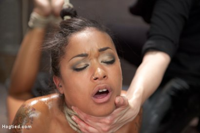 Photo number 7 from Skin Diamond Live Show - Complete Edited Version  shot for Hogtied on Kink.com. Featuring Skin Diamond in hardcore BDSM & Fetish porn.