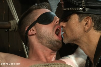 Photo number 1 from Master Avery ties up, torments, zips, zaps, flogs and fucks his boy shot for Bound Gods on Kink.com. Featuring Troy Daniels and Master Avery in hardcore BDSM & Fetish porn.