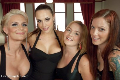 Photo number 15 from Four Girl Anal Orgy shot for Everything Butt on Kink.com. Featuring Chanel Preston, Tricia Oaks, Krissy Lynn and Phoenix Marie in hardcore BDSM & Fetish porn.