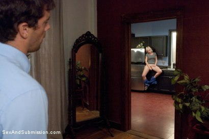 Photo number 1 from Submissive Housekeeping Slut shot for Sex And Submission on Kink.com. Featuring Alice Frost and Ramon Nomar in hardcore BDSM & Fetish porn.