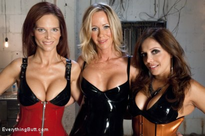 Photo number 15 from Magnificent MILF's shot for Everything Butt on Kink.com. Featuring Francesca Le, Simone Sonay and Syren de Mer in hardcore BDSM & Fetish porn.