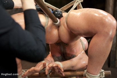 Photo number 10 from Bent shot for Hogtied on Kink.com. Featuring Dee Williams in hardcore BDSM & Fetish porn.