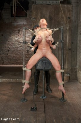 Photo number 13 from Bent shot for Hogtied on Kink.com. Featuring Dee Williams in hardcore BDSM & Fetish porn.