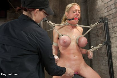 Photo number 14 from Bent shot for Hogtied on Kink.com. Featuring Dee Williams in hardcore BDSM & Fetish porn.