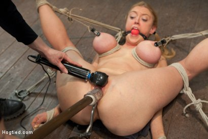 Photo number 7 from Bent shot for Hogtied on Kink.com. Featuring Dee Williams in hardcore BDSM & Fetish porn.