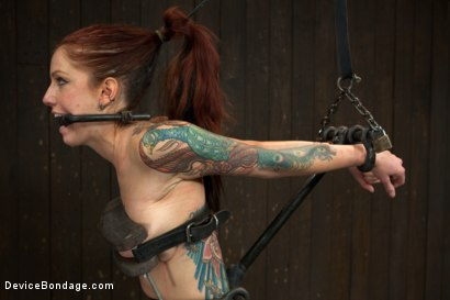 Photo number 10 from Tricia Oaks - Unbreakable shot for Device Bondage on Kink.com. Featuring Mz Berlin, Romona Vaine and Tricia Oaks in hardcore BDSM & Fetish porn.