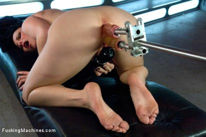 Photo number 8 from She's A Maniac with The Machines shot for Fucking Machines on Kink.com. Featuring Veruca James in hardcore BDSM & Fetish porn.