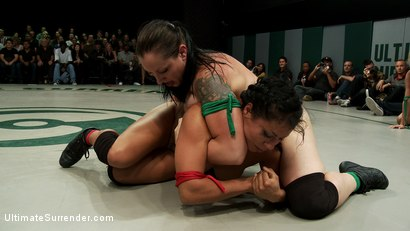 Photo number 7 from August Tag Team Match-Up! shot for Ultimate Surrender on Kink.com. Featuring DragonLily, Mistress Kara, Rain DeGrey, Katie Summers, Izamar Gutierrez, Bryn Blayne and Princess Donna Dolore in hardcore BDSM & Fetish porn.