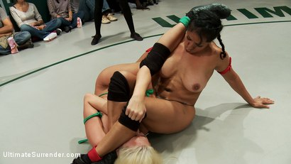 Photo number 5 from August Tag Team Match-Up! shot for Ultimate Surrender on Kink.com. Featuring DragonLily, Mistress Kara, Rain DeGrey, Katie Summers, Izamar Gutierrez, Bryn Blayne and Princess Donna Dolore in hardcore BDSM & Fetish porn.