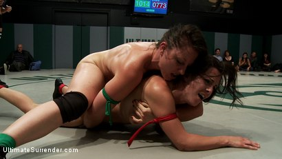 Photo number 11 from Sept. Tag Team Match-Up: The Final Countdown shot for Ultimate Surrender on Kink.com. Featuring DragonLily, Mistress Kara, Rain DeGrey, Katie Summers, Izamar Gutierrez, Bryn Blayne and Princess Donna Dolore in hardcore BDSM & Fetish porn.