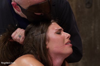 Photo number 5 from Sgt Major vs Casey Calvert shot for Hogtied on Kink.com. Featuring Sgt. Major and Casey Calvert in hardcore BDSM & Fetish porn.