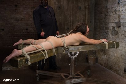 Photo number 6 from Sgt Major vs Casey Calvert shot for Hogtied on Kink.com. Featuring Sgt. Major and Casey Calvert in hardcore BDSM & Fetish porn.