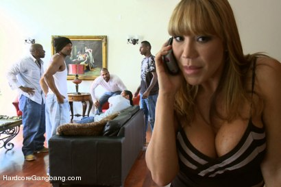 Photo number 1 from Rich MILF Taken Down & Gangbanged by her Daughters Black Thug Friends shot for Hardcore Gangbang on Kink.com. Featuring Ava Devine, Jon Jon, Prince Yahshua, Jack Napier, Karlo Karrera and D Snoop in hardcore BDSM & Fetish porn.