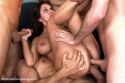 Photo number 12 from MILF with a tiny body and HUGE tits Gangbanged by Co-Workers shot for Hardcore Gangbang on Kink.com. Featuring Ava Addams, Danny Mountain, James Deen and Ramon Nomar in hardcore BDSM & Fetish porn.