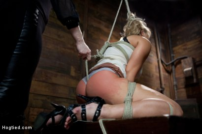 Photo number 9 from Two Cunts - One Game shot for Hogtied on Kink.com. Featuring Riley James and Lea Lexis in hardcore BDSM & Fetish porn.