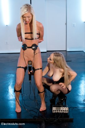 Photo number 2 from Maia under Electro-Control shot for Electro Sluts on Kink.com. Featuring Aiden Starr and Maia Davis in hardcore BDSM & Fetish porn.