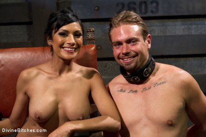 Photo number 9 from Worshipping Beretta James shot for Divine Bitches on Kink.com. Featuring Beretta James and John Jammen in hardcore BDSM & Fetish porn.