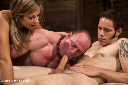 Photo number 15 from Brat Princess Cuckoldress with Chastity Lynn shot for Divine Bitches on Kink.com. Featuring Chastity Lynn, Big Red and Wolf Hudson in hardcore BDSM & Fetish porn.