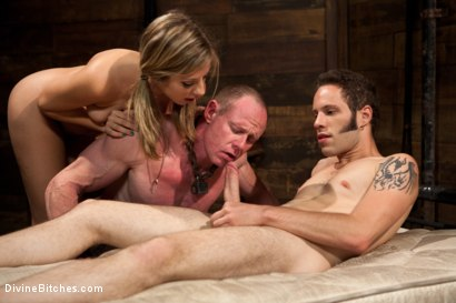 Photo number 8 from Brat Princess Cuckoldress with Chastity Lynn shot for Divine Bitches on Kink.com. Featuring Chastity Lynn, Big Red and Wolf Hudson in hardcore BDSM & Fetish porn.