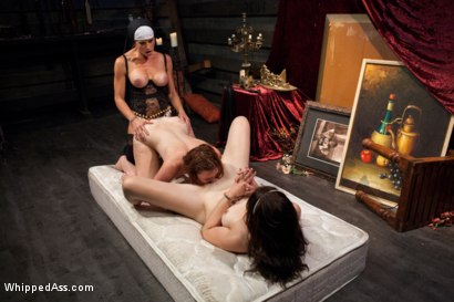 Photo number 8 from Sins Of The Flesh shot for Whipped Ass on Kink.com. Featuring Sarah Shevon, Jodi Taylor and Felony in hardcore BDSM & Fetish porn.