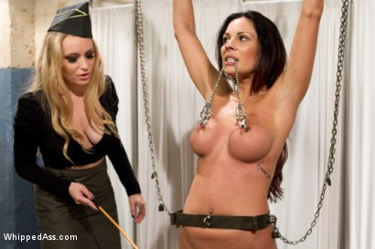 Photo number 1 from Former Contract Star Kirsten Price Violated and Double Penetrated! shot for Whipped Ass on Kink.com. Featuring Aiden Starr and Kirsten Price in hardcore BDSM & Fetish porn.