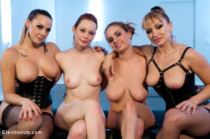 Photo number 15 from Ginger Shock shot for Electro Sluts on Kink.com. Featuring Chanel Preston, Lea Lexis, Justine Joli and Ashlee Graham in hardcore BDSM & Fetish porn.