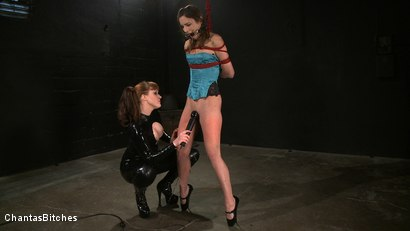 Photo number 4 from Tormented Amber shot for Chantas Bitches on Kink.com. Featuring Amber Rayne and Julie Simone in hardcore BDSM & Fetish porn.