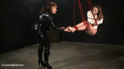 Photo number 5 from Tormented Amber shot for Chantas Bitches on Kink.com. Featuring Amber Rayne and Julie Simone in hardcore BDSM & Fetish porn.