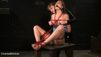 Photo number 10 from Tormented Amber shot for Chantas Bitches on Kink.com. Featuring Amber Rayne and Julie Simone in hardcore BDSM & Fetish porn.