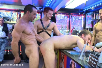 Photo number 9 from Naked and humiliated in front of thousands of people shot for Bound in Public on Kink.com. Featuring Master Avery, Jason Miller and Sebastian Keys in hardcore BDSM & Fetish porn.