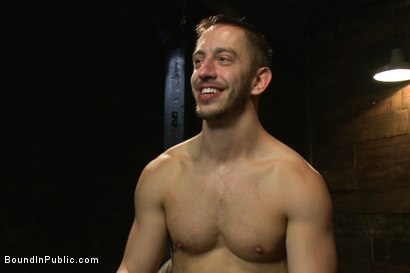 Photo number 15 from A handsome hunk gets ganged up by 100 horny men during Folsom weekend. shot for Bound in Public on Kink.com. Featuring Josh West, Jessie Colter and Bryan Cole in hardcore BDSM & Fetish porn.