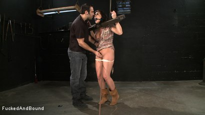 Photo number 2 from Hot and Bothered Beverly shot for  on Kink.com. Featuring Beverly Hills and Sascha in hardcore BDSM & Fetish porn.