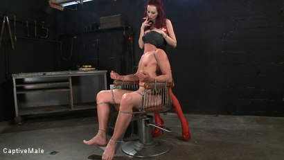 Photo number 1 from Wicked Games shot for Captive Male on Kink.com. Featuring Chad Rock and Mz Berlin in hardcore BDSM & Fetish porn.