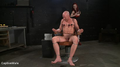 Photo number 4 from Wicked Games shot for Captive Male on Kink.com. Featuring Chad Rock and Mz Berlin in hardcore BDSM & Fetish porn.