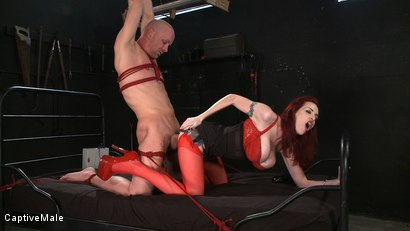 Photo number 6 from Wicked Games shot for Captive Male on Kink.com. Featuring Chad Rock and Mz Berlin in hardcore BDSM & Fetish porn.