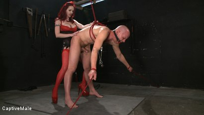 Photo number 9 from Wicked Games shot for Captive Male on Kink.com. Featuring Chad Rock and Mz Berlin in hardcore BDSM & Fetish porn.