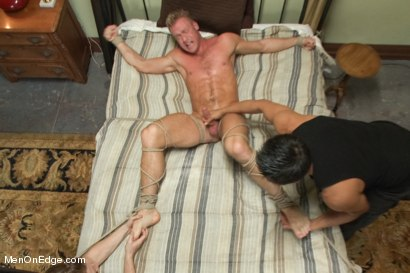 Photo number 13 from Porn Superstar Christopher Daniels -  Bound, Violated and Edged shot for Men On Edge on Kink.com. Featuring Christopher Daniels in hardcore BDSM & Fetish porn.