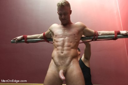 Photo number 3 from Porn Superstar Christopher Daniels -  Bound, Violated and Edged shot for Men On Edge on Kink.com. Featuring Christopher Daniels in hardcore BDSM & Fetish porn.