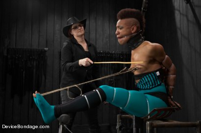 Photo number 5 from Defiled - Nikki Darling shot for Device Bondage on Kink.com. Featuring Nikki Darling in hardcore BDSM & Fetish porn.
