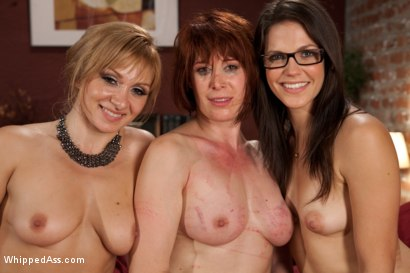 Photo number 9 from Kinky Lesbian Couple shot for Whipped Ass on Kink.com. Featuring Lea Lexis, Bobbi Starr and Odile in hardcore BDSM & Fetish porn.