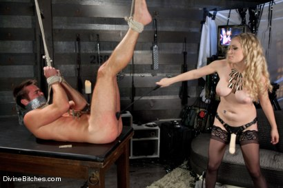 Photo number 6 from Objectified Meat For Goddess Aiden Starr shot for Divine Bitches on Kink.com. Featuring Aiden Starr and Mike de Marko in hardcore BDSM & Fetish porn.