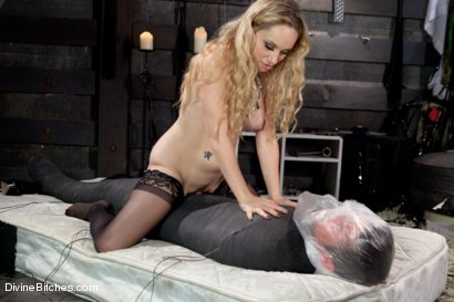 Photo number 15 from Objectified Meat For Goddess Aiden Starr shot for Divine Bitches on Kink.com. Featuring Aiden Starr and Mike de Marko in hardcore BDSM & Fetish porn.