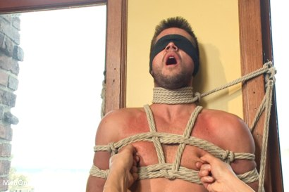 Photo number 5 from Big Fat Cock Getting Edged shot for Men On Edge on Kink.com. Featuring Mike de Marko in hardcore BDSM & Fetish porn.