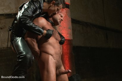 Alessio punished by master avery