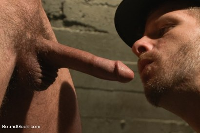 Photo number 9 from Nasty Cop and The Sex Offender shot for Bound Gods on Kink.com. Featuring Jeremy Stevens and Caleb Colton in hardcore BDSM & Fetish porn.