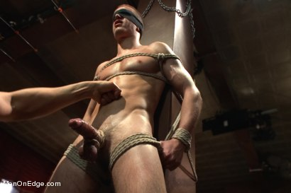 Photo number 4 from Straight French stud with a big fat uncut cock shot for Men On Edge on Kink.com. Featuring Jacques LaVere in hardcore BDSM & Fetish porn.