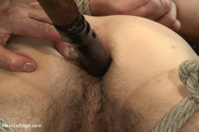 Photo number 5 from Straight French stud with a big fat uncut cock shot for Men On Edge on Kink.com. Featuring Jacques LaVere in hardcore BDSM & Fetish porn.