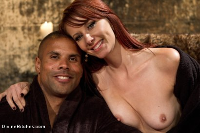 Photo number 8 from A Very Long Milking: Episode 1 shot for Divine Bitches on Kink.com. Featuring Maitresse Madeline Marlowe  and Robert Axel in hardcore BDSM & Fetish porn.